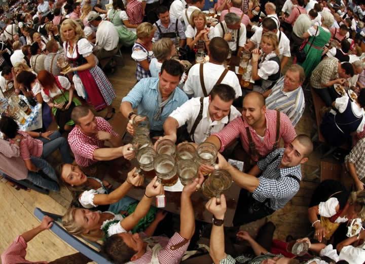 Come arrivare all' Oktoberfest 2013